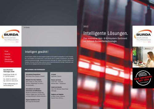 Intelligente Lösungen. Das innovative Heiz- und Kühlsystemsortiment mit Infrarot-Kurzwellentechnologie