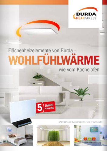 Katalog BURDA HEATPANELS