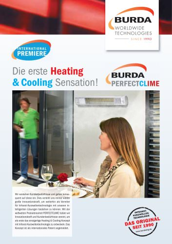 PERFECTCLIME. DIE ERSTE HEATING & COOLING SENSATION.