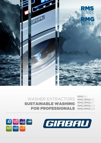 WASHER EXTRACTORS RMS / RMG