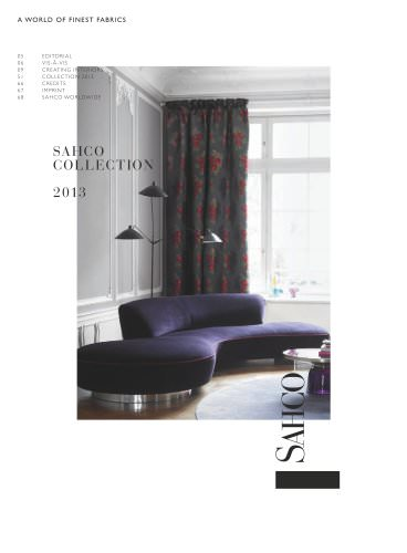 Sahco collection 2013
