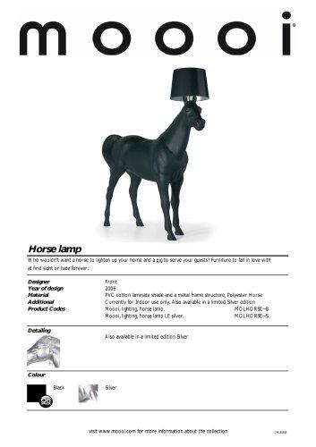 Horse Lamp