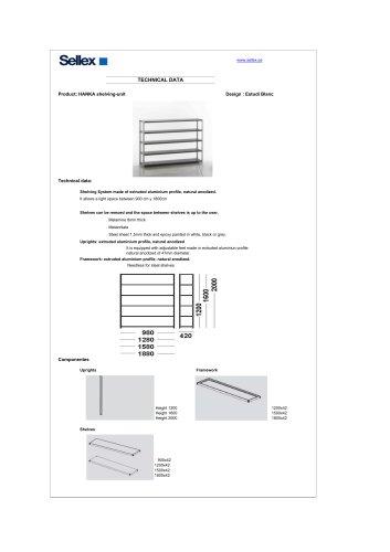 HANKA shelving-unit
