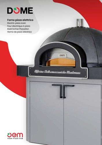 DOME - Elektro-Pizzaofen