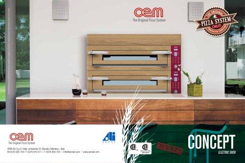 oem CONCEPT Ovens - Sanitation - cCSus