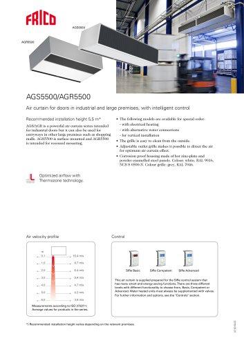 AGS5500/AGR5500