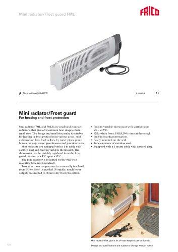 Mini radiator FML