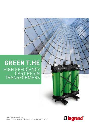 GREEN T.HE HIGH EFFICIENCY CAST RESIN TRANSFORMERS