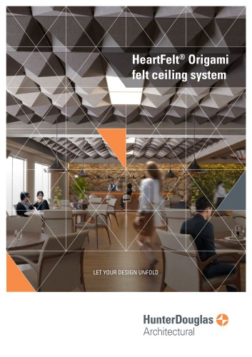 Commercial Brochure Origami