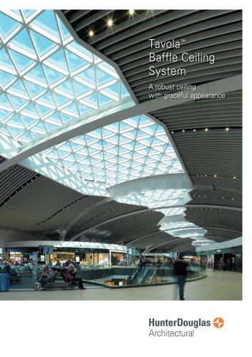 Tavola™ Baffle Ceiling System