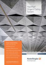 Technical Leaflet HeartFelt® Origami Ceiling System