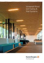 Veneered Wood Grill Ceiling & Wall Systems
