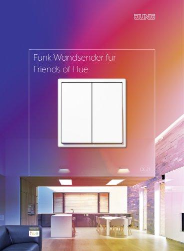 Funk-Wandsender für Friends of Hue