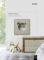 Volle Power. Steckdosen mit USB-Anschluss