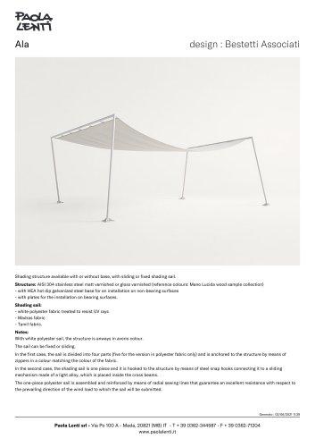 Ala - Shading structure