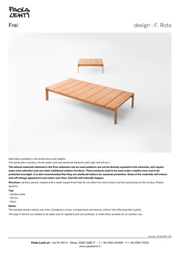 Frei - Side table
