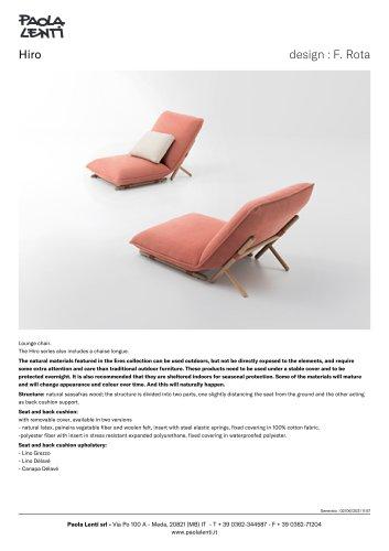 Hiro - Lounge chair