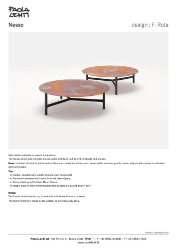 Nesso - Side tables