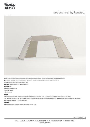 Pavilion  -  design : m-ar by Renato J. Morganti