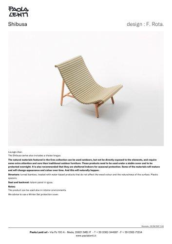 Shibusa - Lounge chair