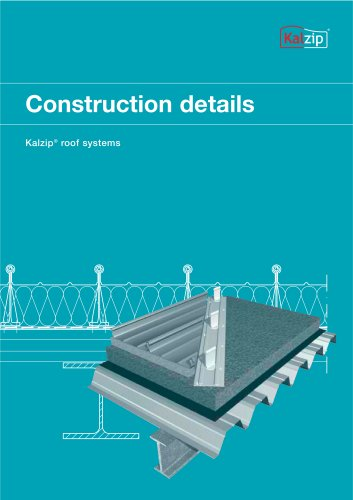 Kalzip Construction details