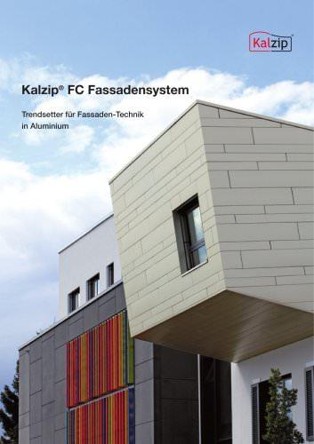 Kalzip FC Fassadensysteme