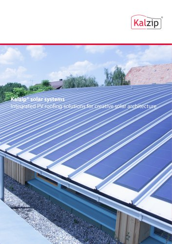 Kalzip® solar systems