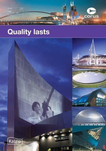 Quality lasts