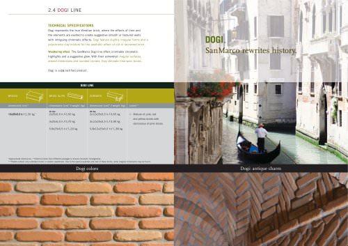 Wall System: Dogi line