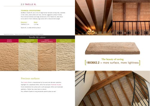 Wall System: Tavelle XL