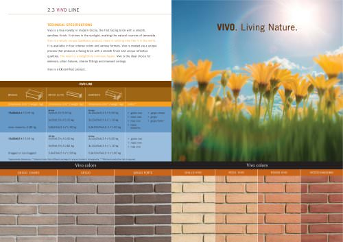 Wall System: Vivo line