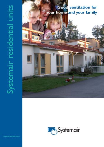 Systemair residential units