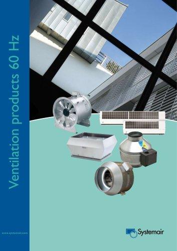 Ventilation products 60 Hz