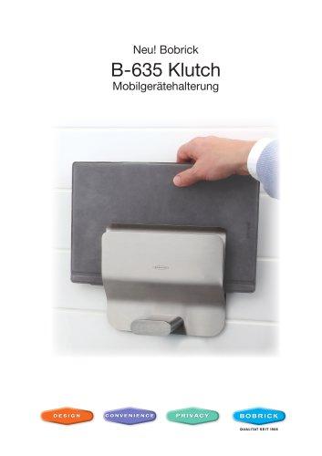 B-635 Klutch Mobilgerätehalterung