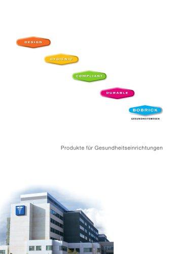 Bobrick Produkte für Gesundheitseinrichtungen