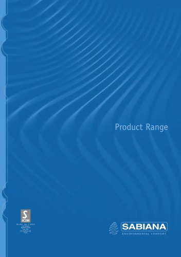 SABIANA Product Range