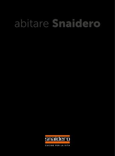 Catalogue Abitare Snaidero 2018