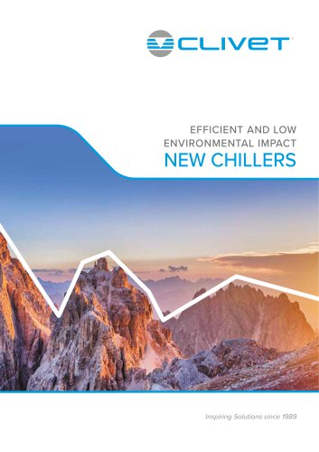 Efficient and low environmental impact chillers