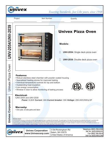 Univex Pizza Oven