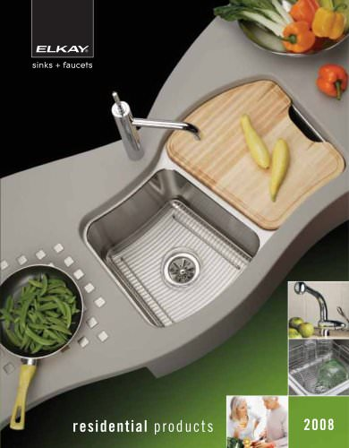 Residential Sinks and Faucets