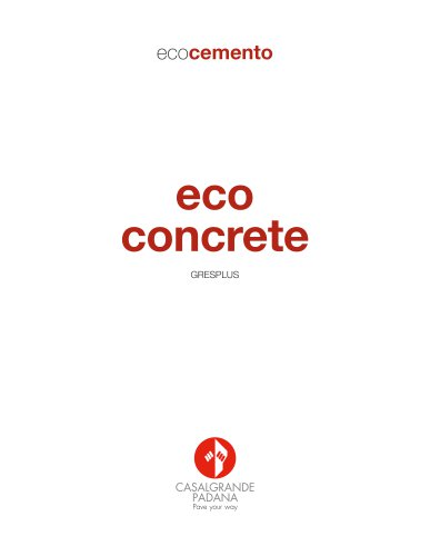 eco concrete gresplus