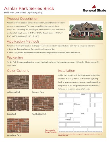 Ashlar Park Series Brick