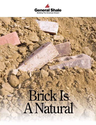 Brick Is A Natural Brochure