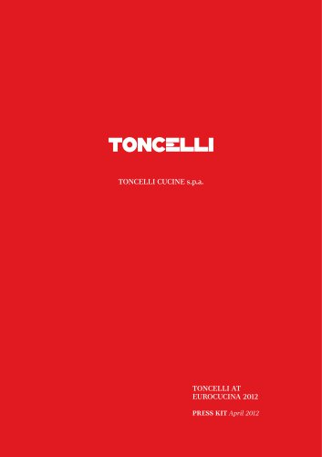 TONCELLI AT  EUROCUCINA 2012