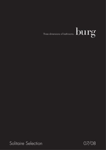 Burg Catalogue