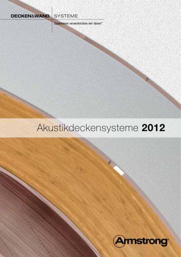Akustikdeckensysteme  - Produktpalette
