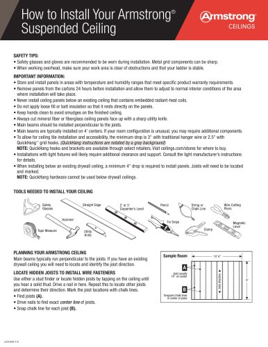 installation instructions 15-16 and 9-16 grid