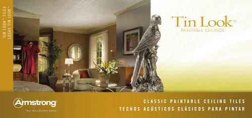 Tin Look™ Paintable Ceilings