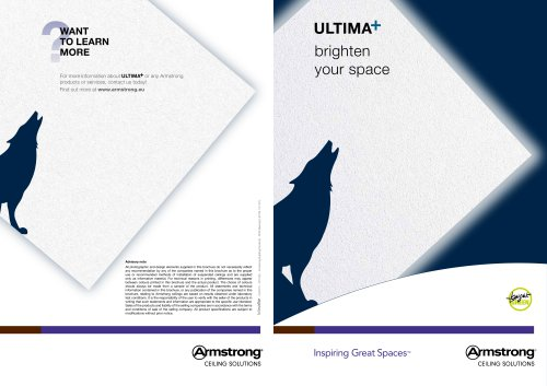 Ultima+ brighten your space