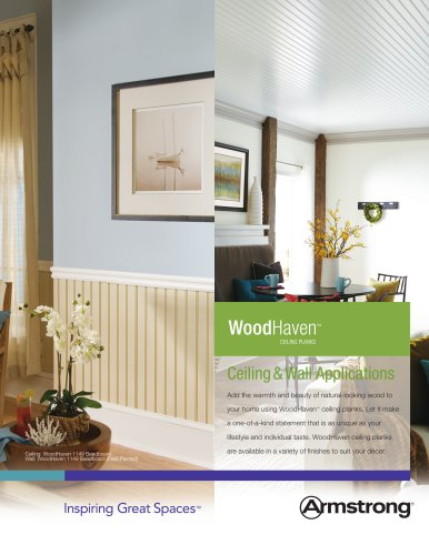 WoodHaven Ceiling Planks